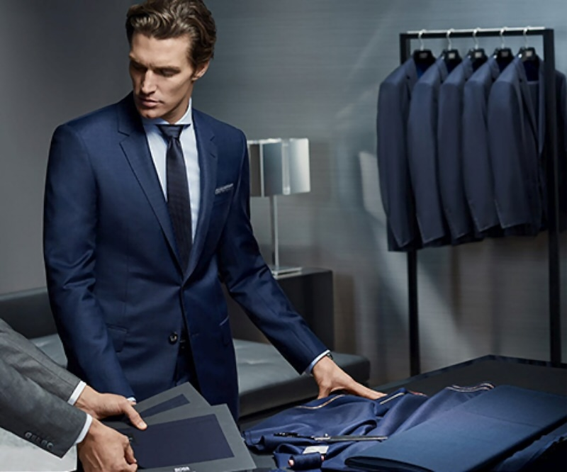 Shaun DeWet Hugo Boss Made to Measure FW 2015 Campaign 2